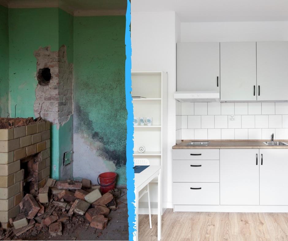 Mieszkanie z przetargu - Warszawa - kuchnia i pokój 2
